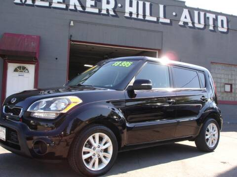 2012 Kia Soul for sale at Meeker Hill Auto Sales in Germantown WI