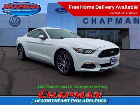2016 Ford Mustang for sale at CHAPMAN FORD NORTHEAST PHILADELPHIA in Philadelphia PA