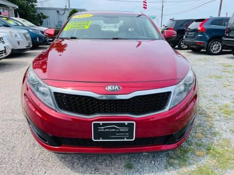 2013 Kia Optima for sale at Cape Cod Cars & Trucks in Hyannis MA