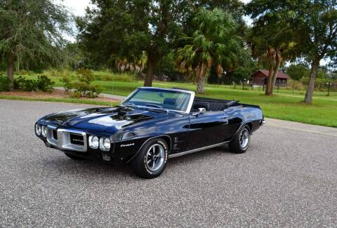 1969 Pontiac Firebird for sale at P J'S AUTO WORLD-CLASSICS in Clearwater FL