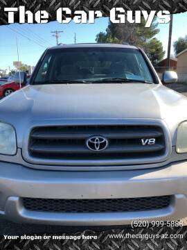 2003 Toyota Sequoia for sale at The Car Guys in Tucson AZ