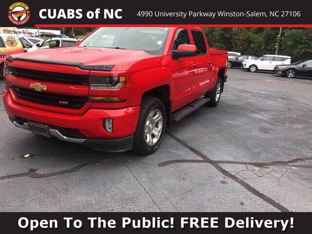 2017 Chevrolet Silverado 1500 for sale at Summit Credit Union Auto Buying Service in Winston Salem NC