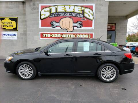 2012 Chrysler 200 for sale at Steve's Automotive Inc. in Niagara Falls NY