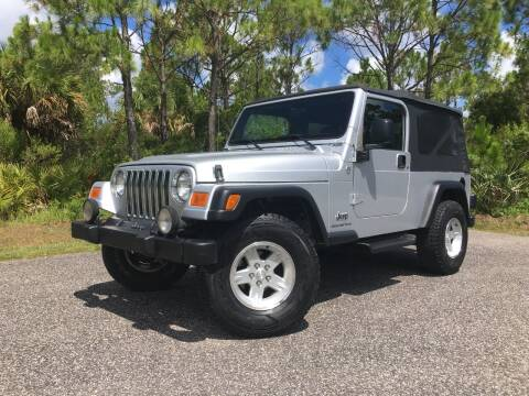 2005 Jeep Wrangler for sale at VICTORY LANE AUTO SALES in Port Richey FL