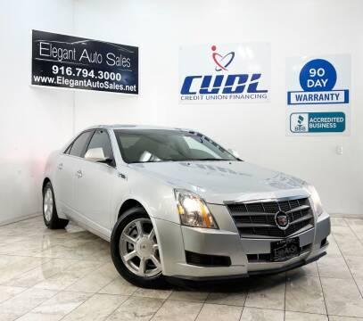2009 Cadillac CTS for sale at Elegant Auto Sales in Rancho Cordova CA