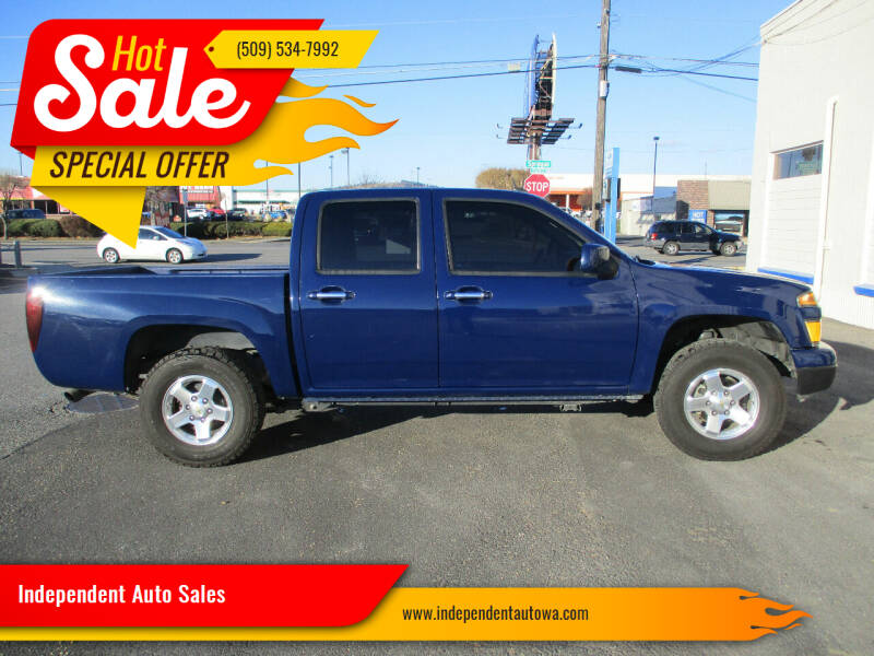2011 Chevrolet Colorado for sale at Independent Auto Sales in Spokane Valley WA