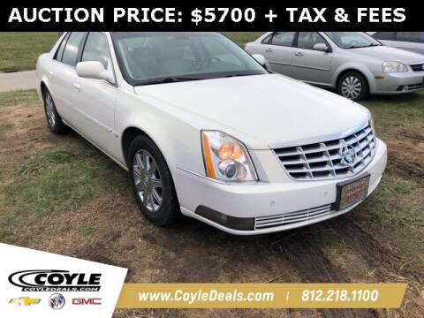 2006 Cadillac DTS for sale at COYLE GM - COYLE NISSAN - Coyle Nissan in Clarksville IN