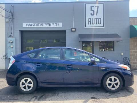 2012 Toyota Prius for sale at 57 AUTO in Feeding Hills MA