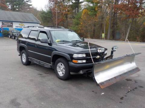 2006 Chevrolet Tahoe for sale at RTE 123 Village Auto Sales Inc. in Attleboro MA