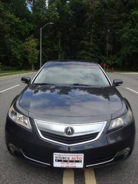 2012 Acura TL for sale at Source Auto Group in Lanham MD