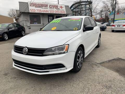 2016 Volkswagen Jetta for sale at Craven Cars in Louisville KY