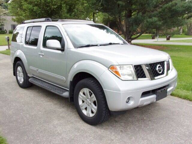 2005 Nissan Pathfinder for sale at Curry's Auto Sales in Nicholasville KY