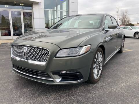 2017 Lincoln Continental for sale at RABIDEAU'S AUTO MART in Green Bay WI