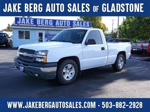 2005 Chevrolet Silverado 1500 for sale at Jake Berg Auto Sales in Gladstone OR