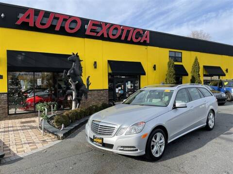 2011 Mercedes-Benz E-Class for sale at Auto Exotica in Red Bank NJ