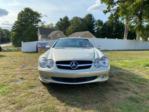 2003 Mercedes-Benz SL-Class for sale at Milford Automall Sales and Service in Bellingham MA