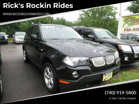 2008 BMW X3 for sale at Rick's Rockin Rides in Reynoldsburg OH