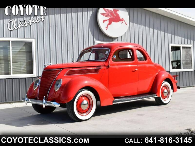 1937 Ford Deluxe for sale in Greene, IA