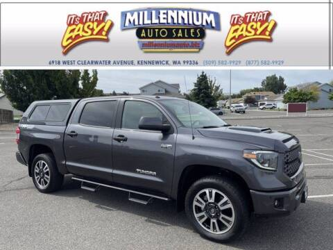 2019 Toyota Tundra for sale at Millennium Auto Sales in Kennewick WA