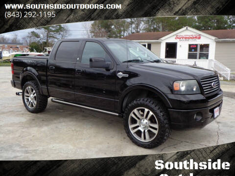 2007 Ford F-150 for sale at Southside Outdoors in Turbeville SC