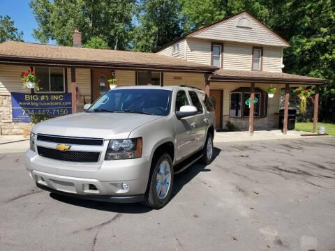 2008 Chevrolet Tahoe for sale at BIG #1 INC in Brownstown MI