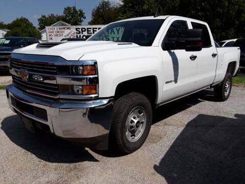 2017 Chevrolet Silverado 2500HD for sale at Speedway Motors TX in Fort Worth TX
