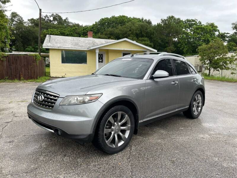 2006 Infiniti FX35 for sale at Louie's Auto Sales in Leesburg FL