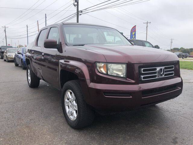 2008 Honda Ridgeline for sale at Instant Auto Sales in Chillicothe OH