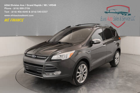 2015 Ford Escape for sale at Elvis Auto Sales LLC in Grand Rapids MI