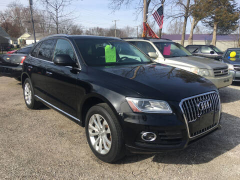 2015 Audi Q5 for sale at Antique Motors in Plymouth IN