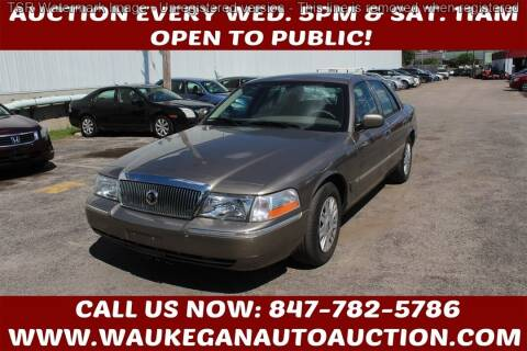2005 Mercury Grand Marquis for sale at Waukegan Auto Auction in Waukegan IL