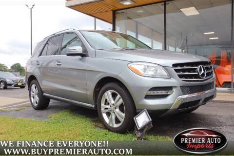 2014 Mercedes-Benz M-Class for sale at PREMIER AUTO IMPORTS - Temple Hills Location in Temple Hills MD