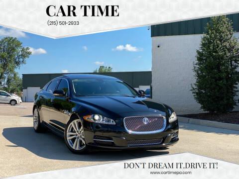2011 Jaguar XJL for sale at Car Time in Philadelphia PA