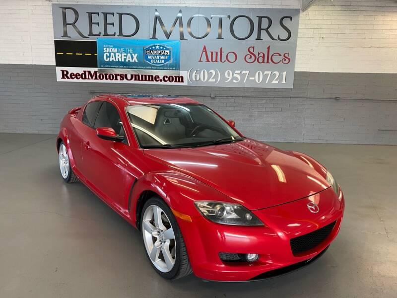 2007 Mazda RX-8 for sale at REED MOTORS LLC in Phoenix AZ