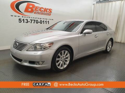 2010 Lexus LS 460 for sale at Becks Auto Group in Mason OH