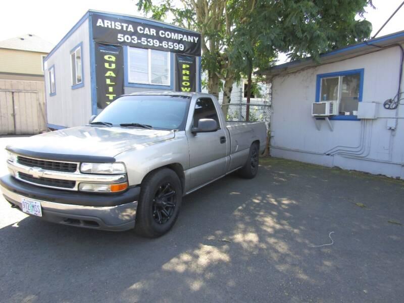 2001 Chevrolet Silverado 1500 for sale at ARISTA CAR COMPANY LLC in Portland OR
