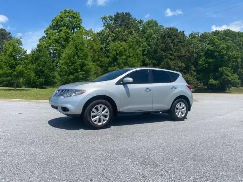 2014 Nissan Murano for sale at GTO United Auto Sales LLC in Lawrenceville GA