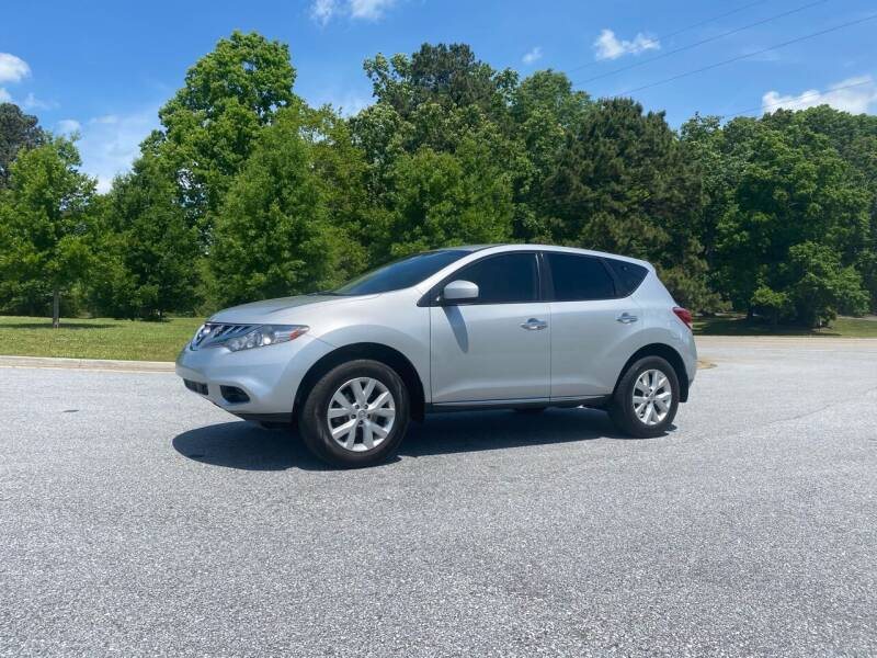 2014 Nissan Murano for sale at GTO United Auto Sales LLC in Lawrenceville GA