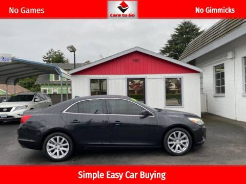 2014 Chevrolet Malibu for sale at Cars To Go in Portland OR