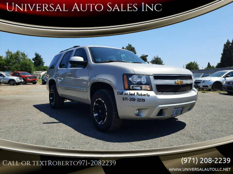 2007 Chevrolet Tahoe for sale at Universal Auto Sales Inc in Salem OR