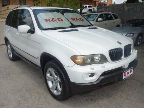2006 BMW X5 for sale at R & D Motors in Austin TX