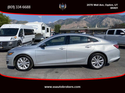 2020 Chevrolet Malibu for sale at S S Auto Brokers in Ogden UT