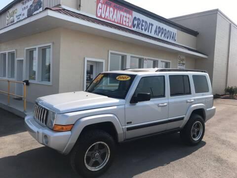 2007 Jeep Commander for sale at Suarez Auto Sales in Port Huron MI