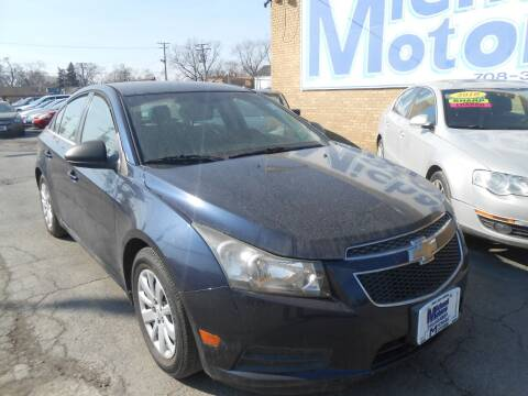 2011 Chevrolet Cruze for sale at Michael Motors in Harvey IL
