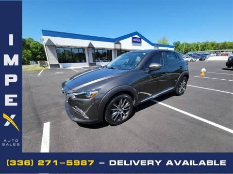 2016 Mazda CX-3 for sale at Impex Auto Sales in Greensboro NC
