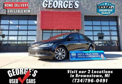 2016 Chrysler 200 for sale at George's Used Cars - Pennsylvania & Allen in Brownstown MI