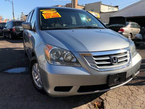 2008 Honda Odyssey for sale at Jeff Auto Sales INC in Chicago IL