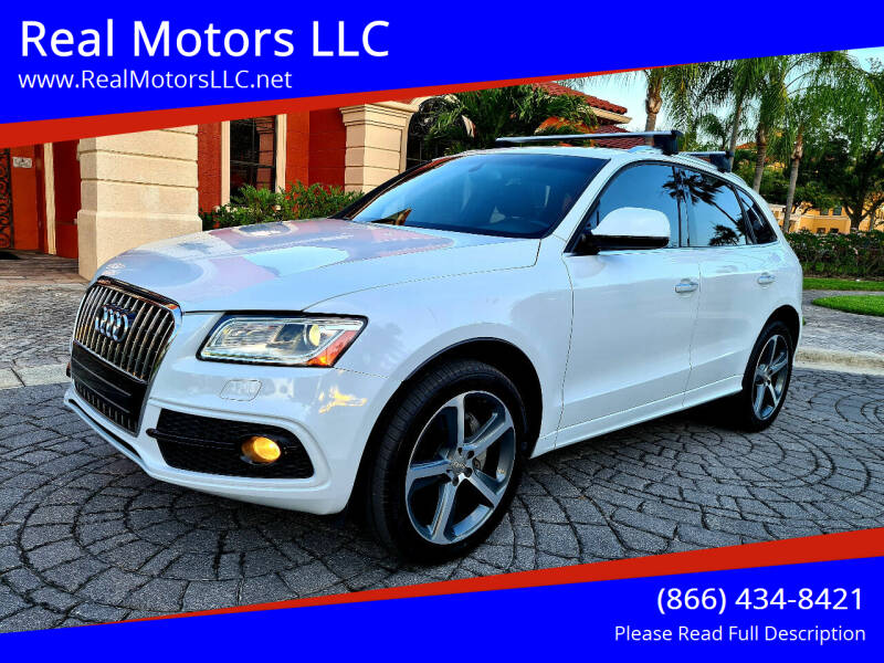 2017 Audi Q5 for sale at Real Motors LLC in Clearwater FL