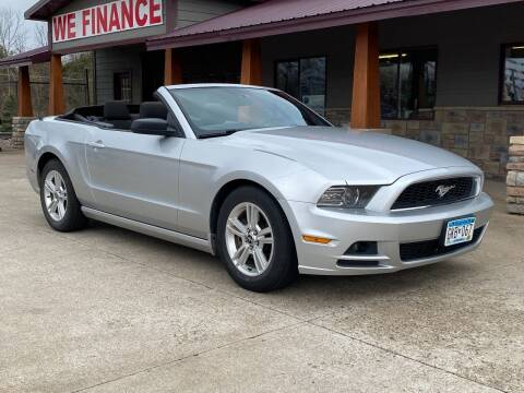 2014 Ford Mustang for sale at Affordable Auto Sales in Cambridge MN