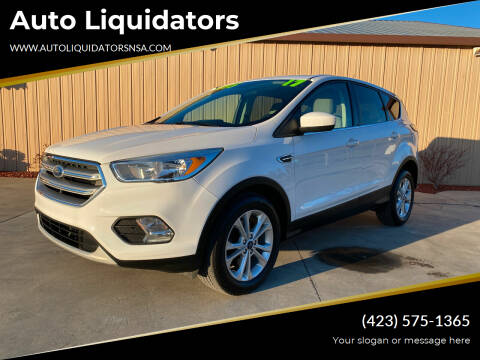 2017 Ford Escape for sale at Auto Liquidators in Bluff City TN